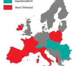 PKW Maut Europa